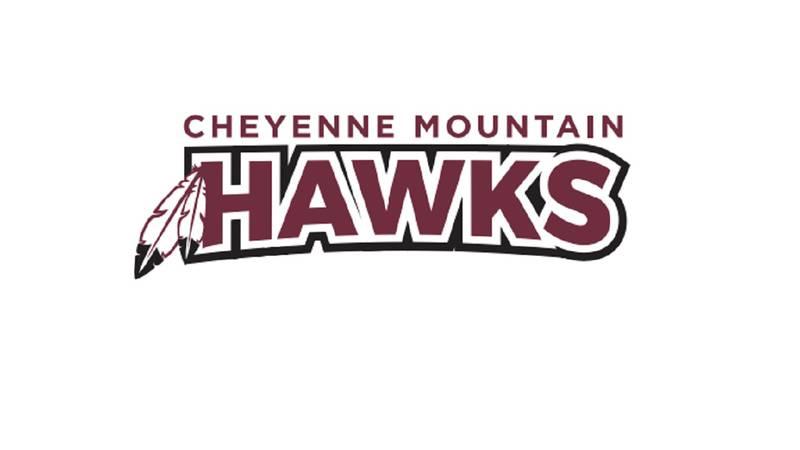 Cheyenne Mountain Hawks logo.