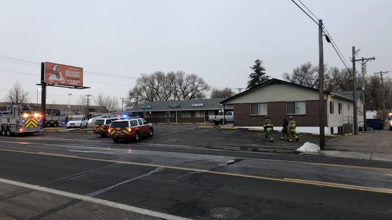 Colorado Springs Firefighters quickly put out a fire at a strip mall near E. Bijou St. and N....