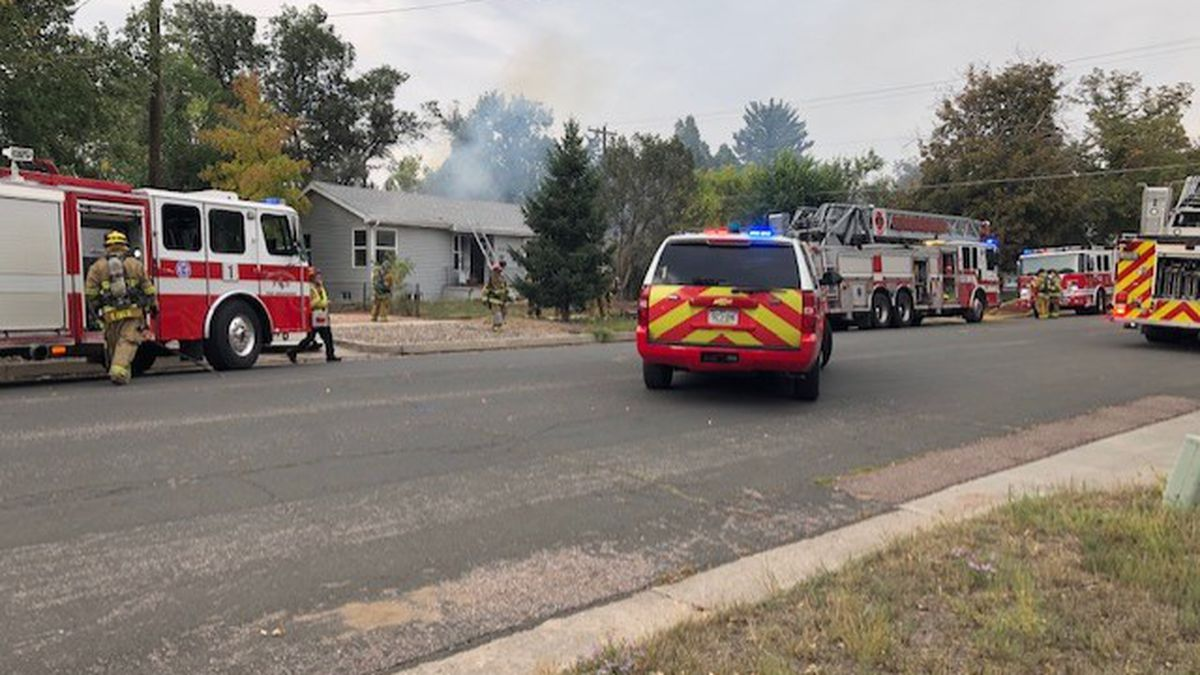 CSFD rescues dog from house fire in downtown Colorado Springs