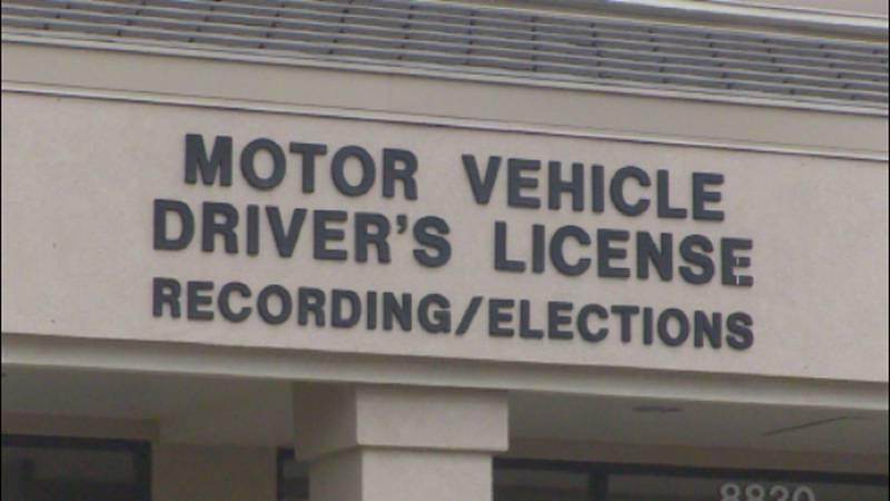 Generic DMV photo.