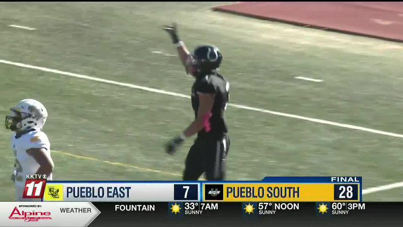Cannon booms black...again! Pueblo South outduels Pueblo East 28-7