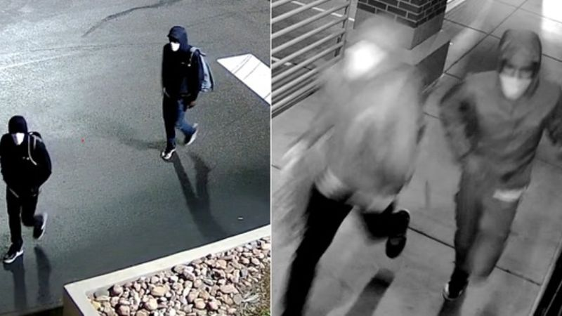 Police are asking anyone who recognizes these men to come forward.