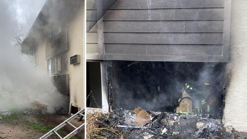 Apartment fire in Colorado Springs 5/11/21.