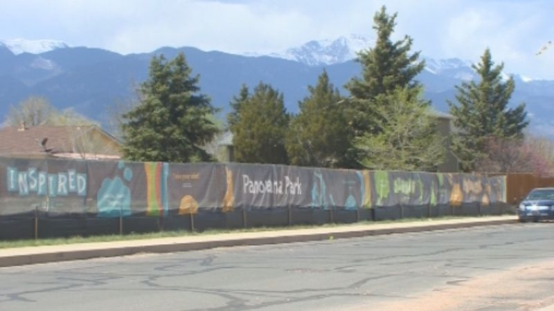 The City of Colorado Springs is hosting a ground breaking for 'Panorama Park' Saturday to mark...