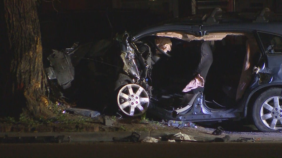 Crash on Platte Avenue 7/23/2021