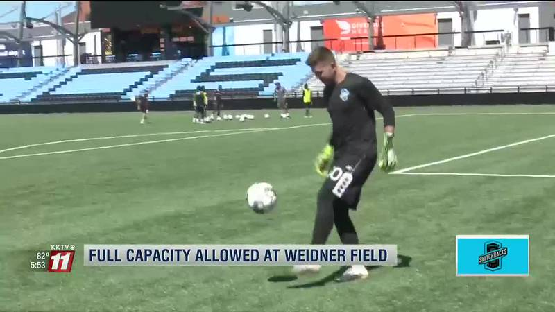Weidner Field cleared for 100% capacity at next Switchbacks FC game
