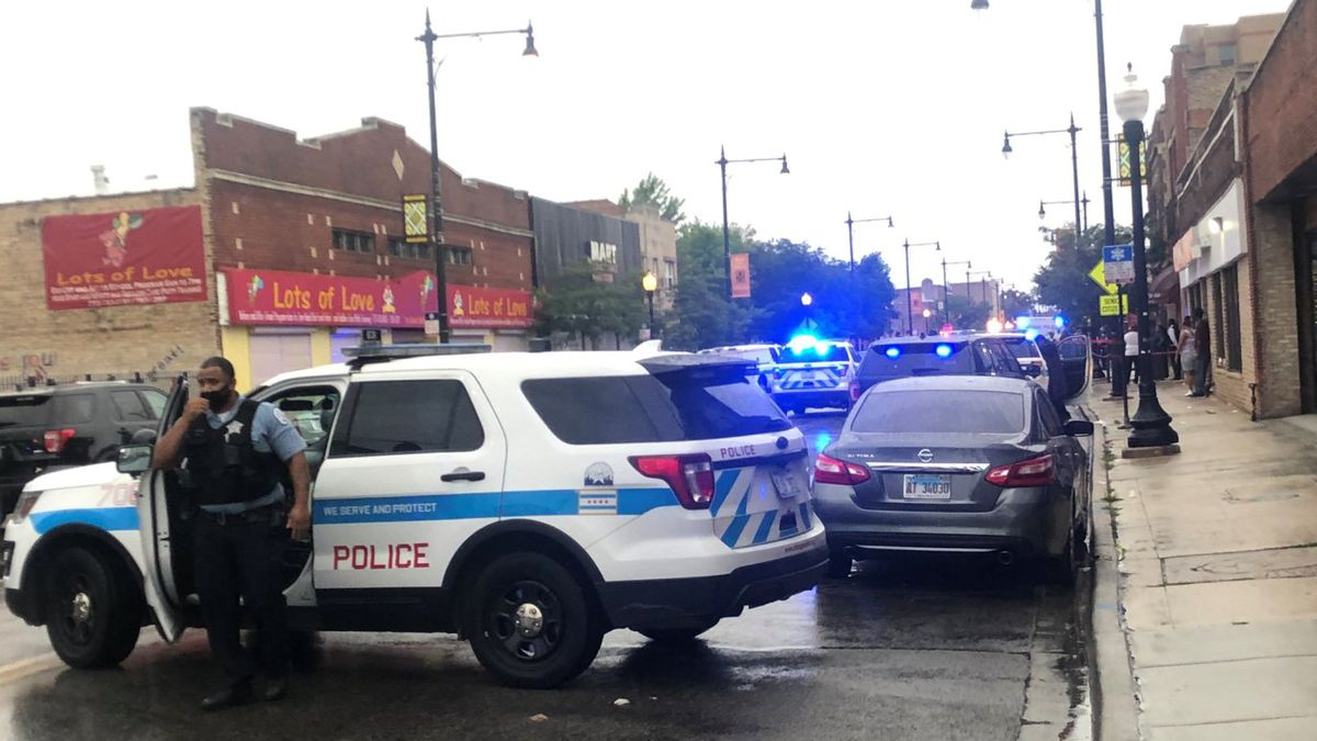 Ten women and five men were injured in a shooting at a Chicago funeral home, which happened during a funeral for another victim on gun violence.