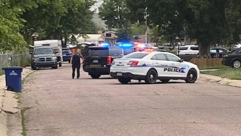 Standoff in a Widefield neighborhood 7/22/21.