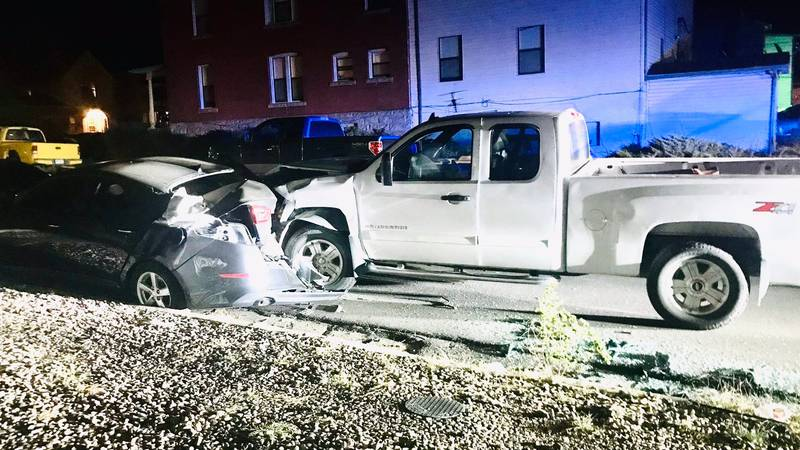 Pueblo Police took one man into custody after an alleged DUI crash. The crash happened just...