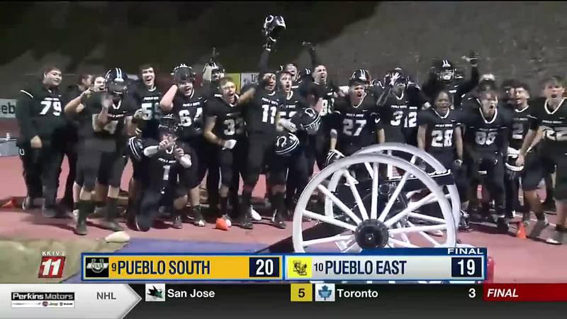 Pueblo South tops Pueblo East 20-19 to win 2021 Cannon Game