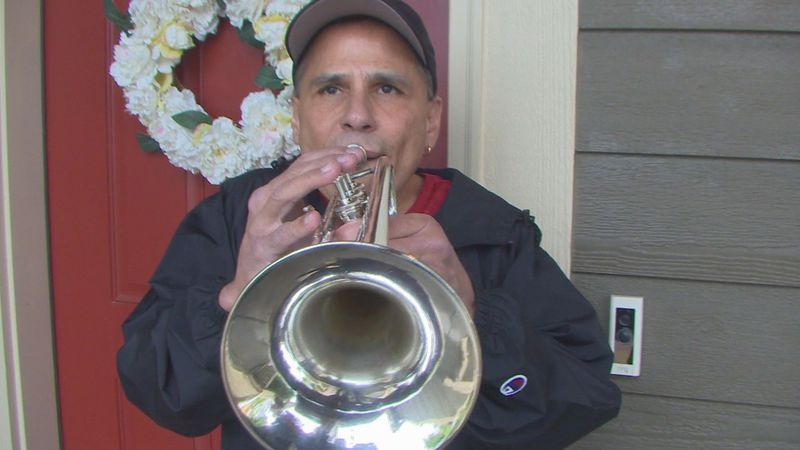 """Dan Bell joined """"Taps Across America"""" on May 31, 2021."""
