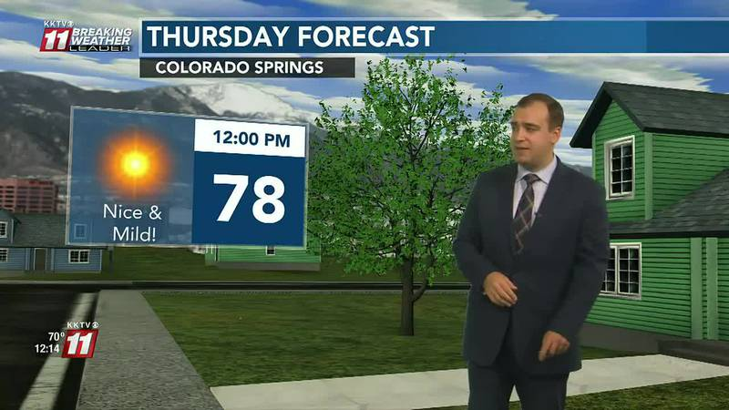 Dry and mild weather continues into the weekend