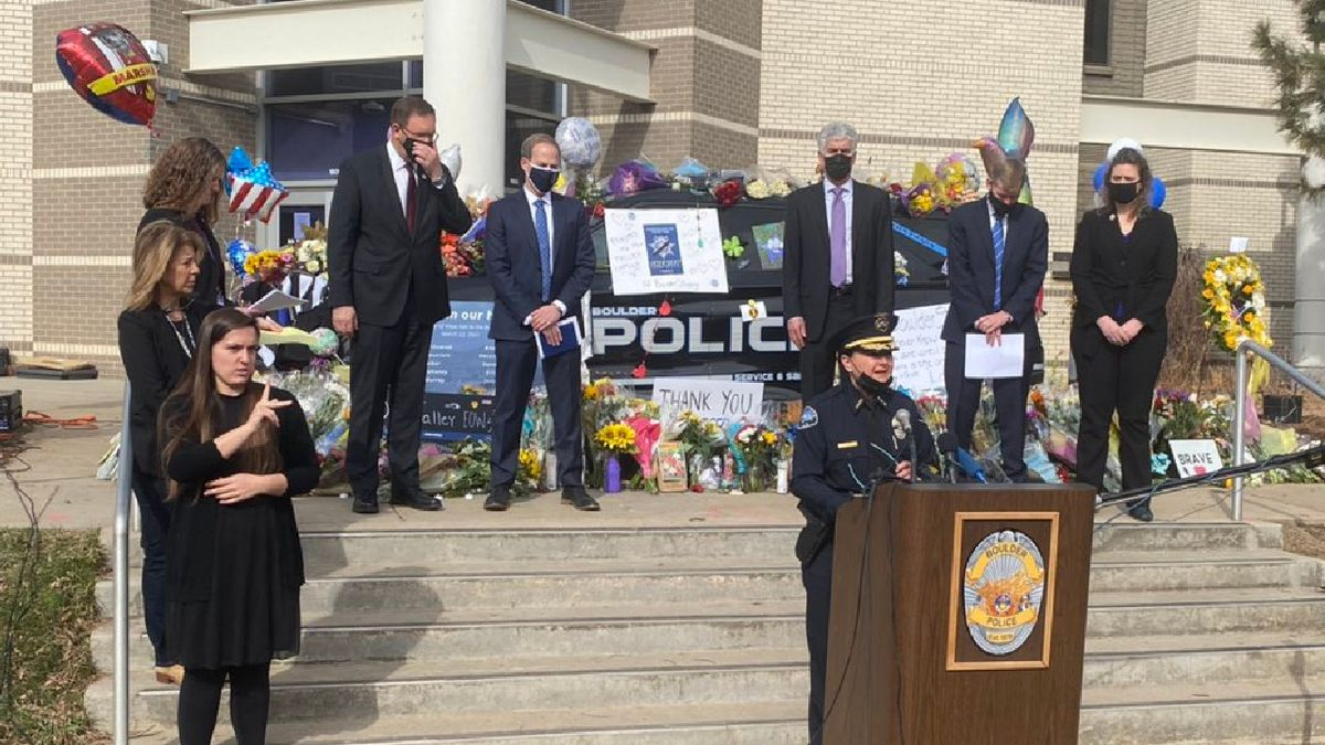 The Boulder Police Department held a press conference Friday morning to give an update on the...