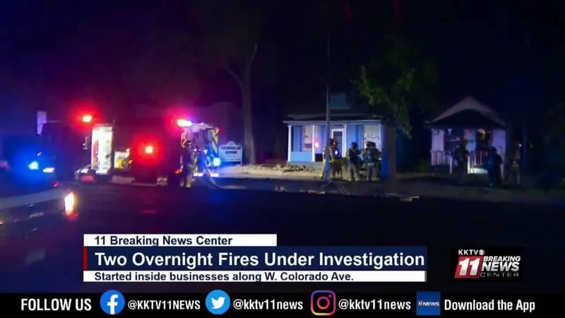 overnight fires