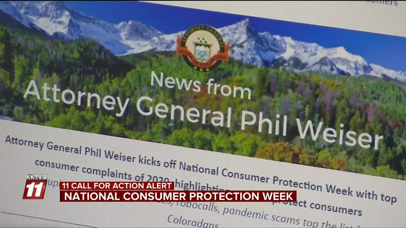 National Consumer Protection Week is February 28 - March 7.