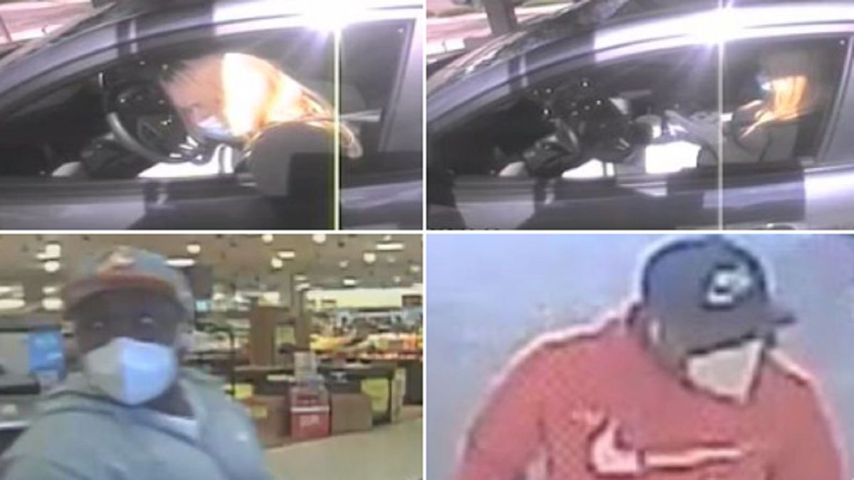 Multiple vehicle break-ins along the front range.  Photos of the suspects.