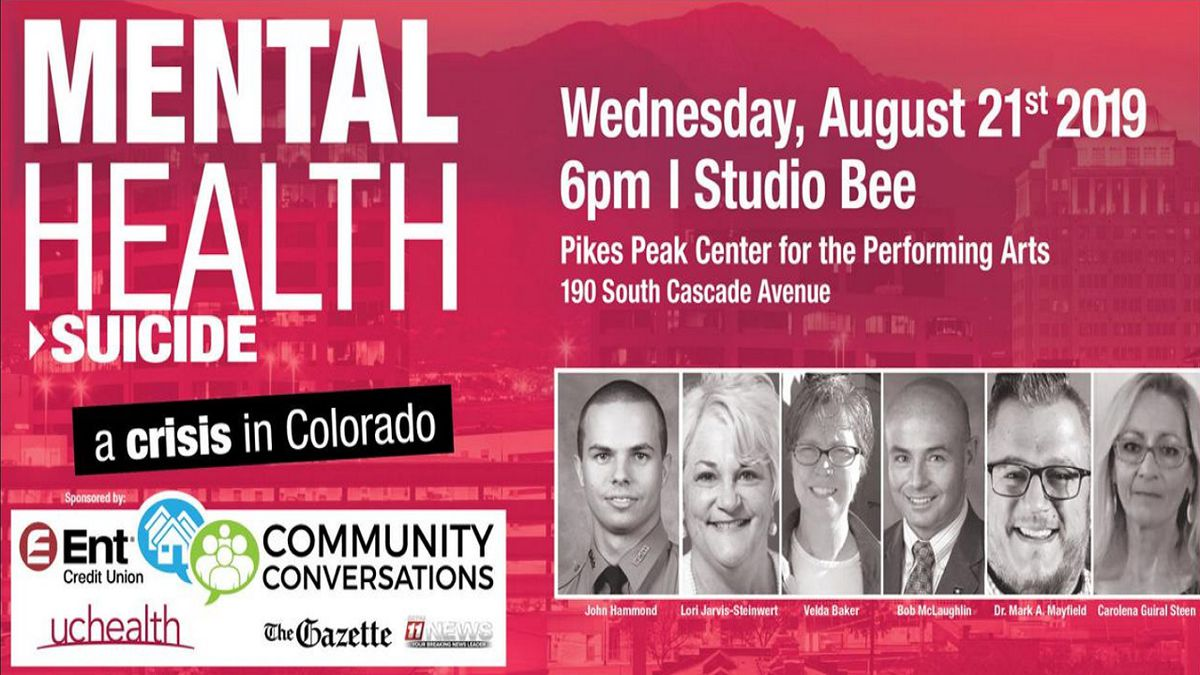 The event is scheduled for Aug. 21, 6 p.m. at Studio Bee in the Pikes Peak Center for the Performing Arts.