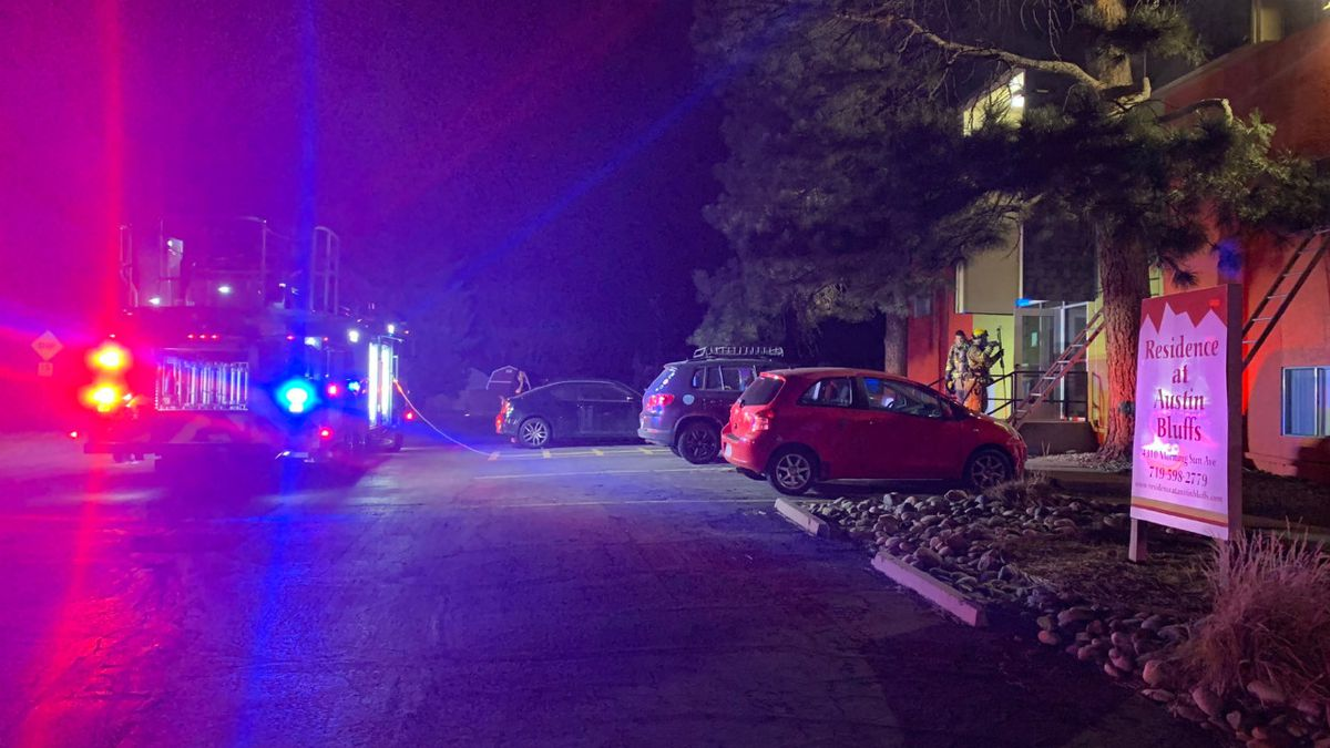 Colorado Springs Fire Department responded to a house fire early Saturday morning.
