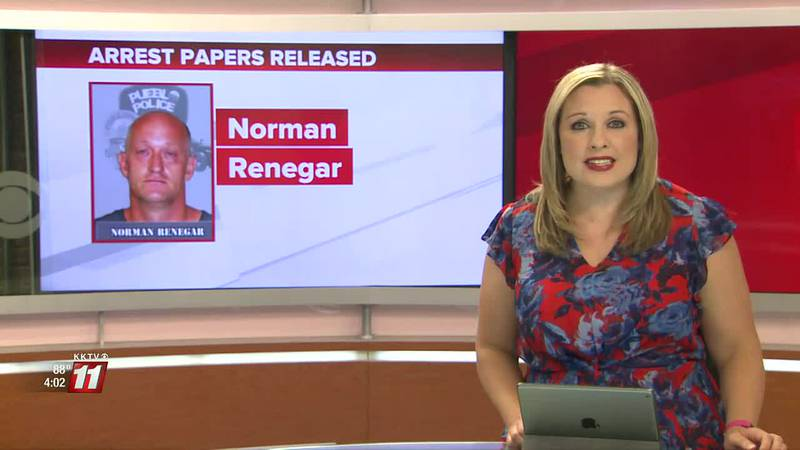 Norman Renegar is facing felony menacing and extortion charges in addition to others.