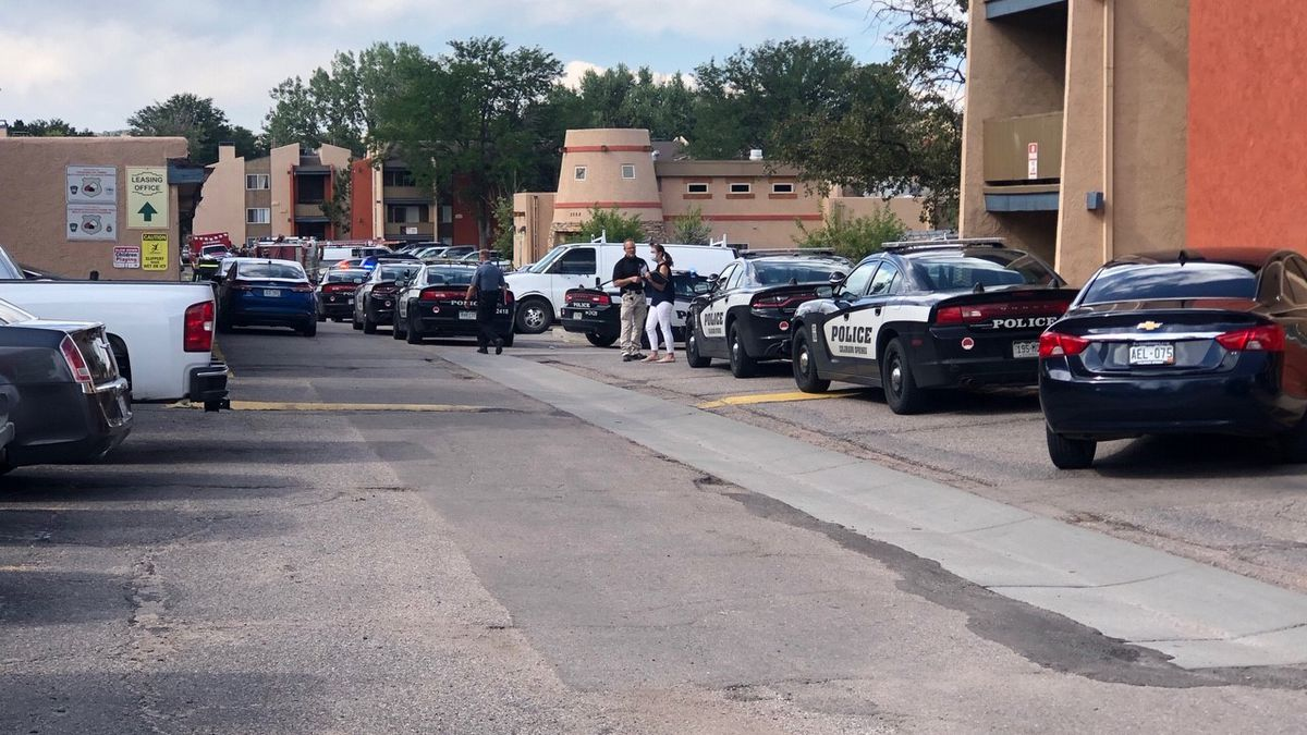 Scene of shooting near Green Tree Apartments in Colorado Springs