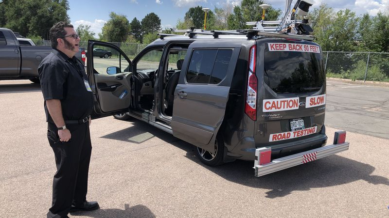 The Roadway Collection Vehicle will be used to measure roads with the most damage
