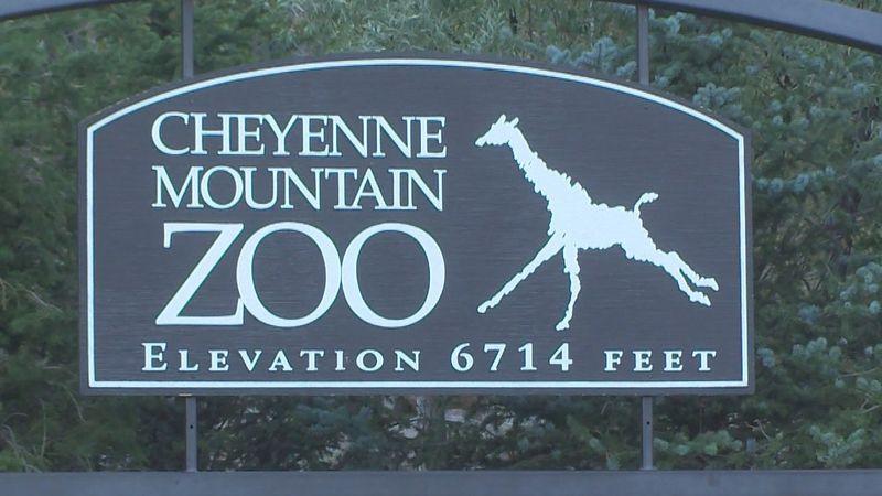 Cheyenne Mountain Zoo in Colorado Springs.  Photo by KKTV.